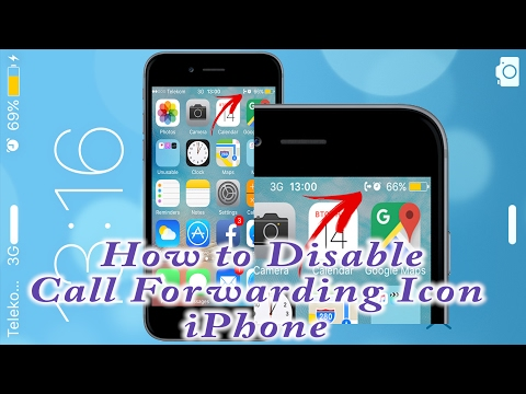 Call Forwarding Icon keeps appearing on iPhone | How to Disable Call Forwarding Icon on iPhone