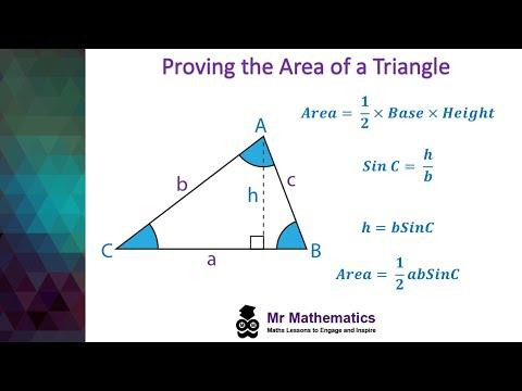 Proof Area of a Triangle