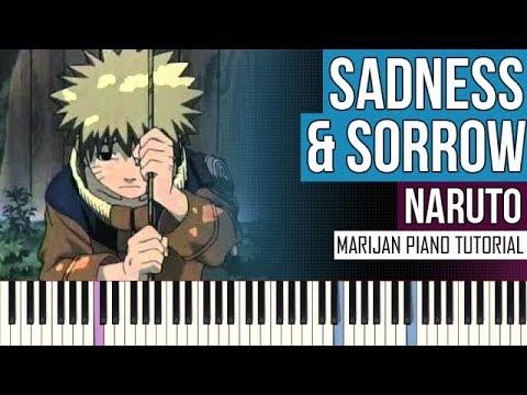 How To Play: Naruto - Sadness & Sorrow | Piano Tutorial + Sheets