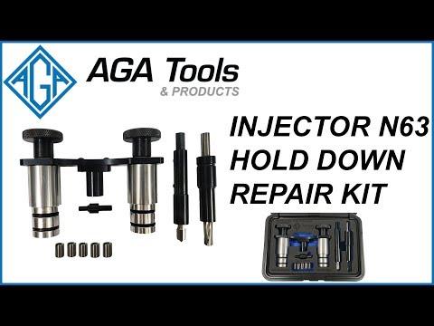 AGA Injector N63 Hold Down Thread Repair