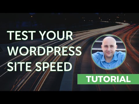 How to Test Your WordPress Website PageLoad Speed - Speed Up WordPress
