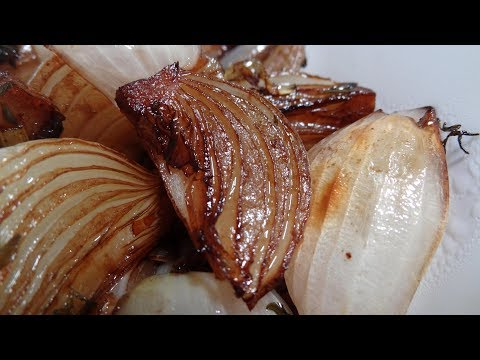Easy Delicious Sides -  Balsamic Glazed Onions