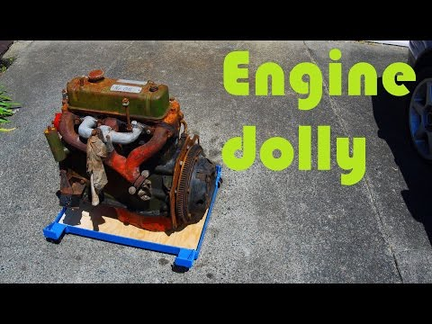 Quick 'n' Dirty Engine Dolly build