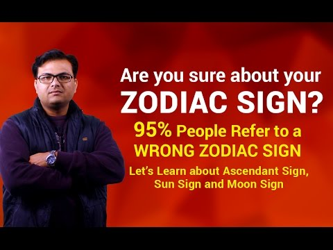 Know Your Ascendant, Sun & Moon Sign?