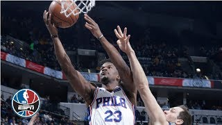 Jimmy Butler's 27-point night leads the 76ers past the Pacers   NBA Highlights