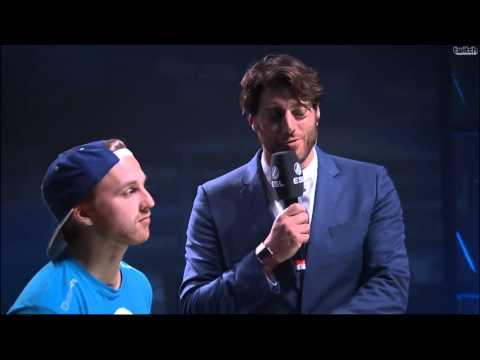 Jordan 'n0thing' Gilbert rapping on IEM San Jose