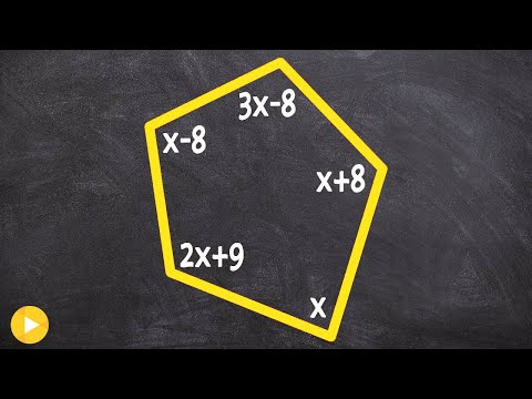 Find the measure of x given interior angles of a pentagon