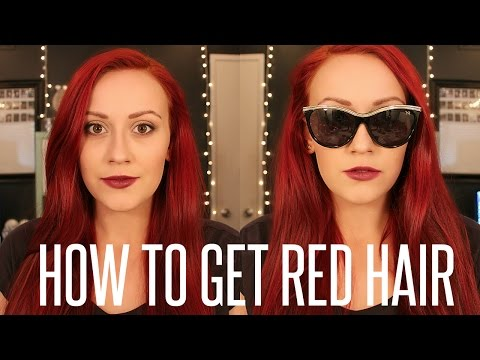 Maintaining Red Hair and How to Keep Dyed Hair Healthy