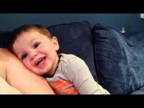 my little boy cheering on the blue jays!