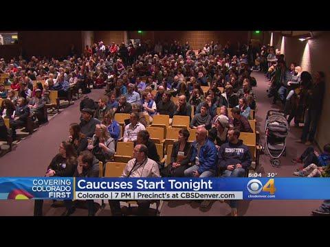 Voters Begin To Caucus In Colorado