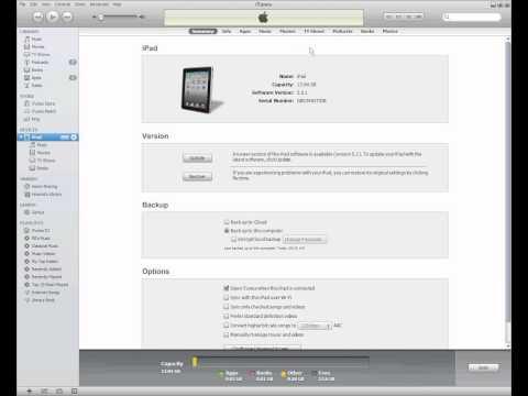 Transfer PDF file on iPad