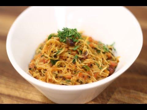 Instant Wheat Vermicelli Upma In Gujarati | Snacky Ideas by Amisha Doshi | Sanjeev Kapoor Khazana
