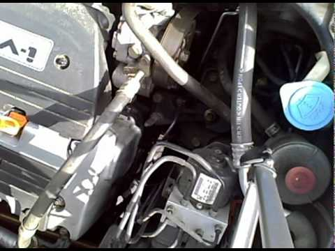 2003 Honda Element serpentine belt change
