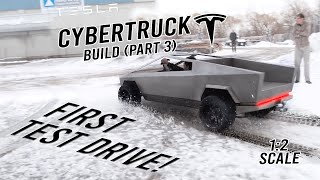 CYBERTRUCK BUILD (Part 3: Almost Done!)