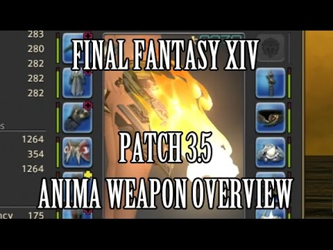 Final Fantasy XIV: i270 Anima Weapon Overview & Guide