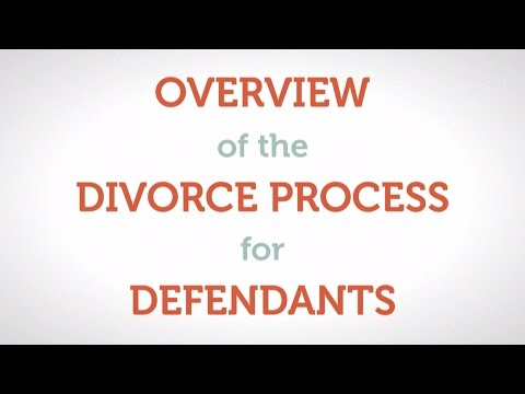 Overview of the Divorce Process for Defendants