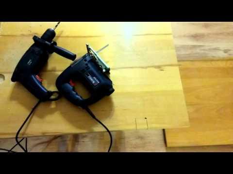 How to Rotate the Jigsaw's Blade 90° (Melamine Wood)