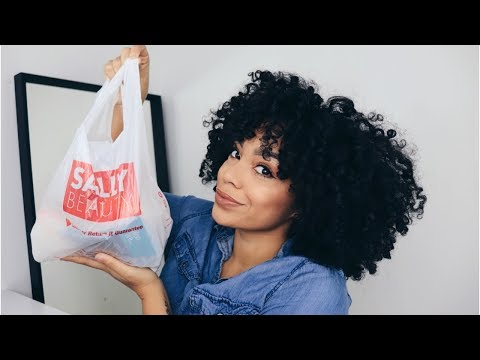 Quick Sally Beauty HAUL  | Natural Hair Products