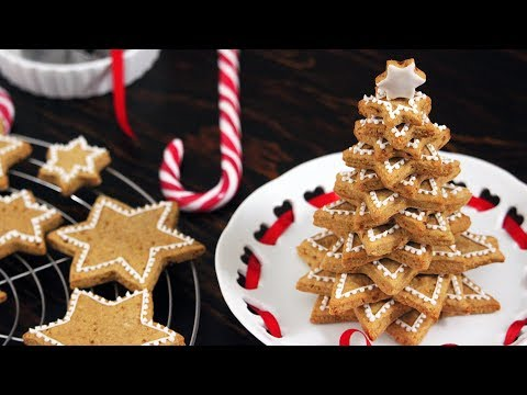 Cookies Christmas Tree | How to make Royal Icing | How Tasty Channel