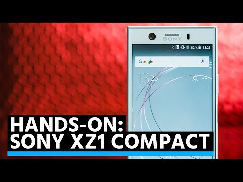 Hands-on: Sony Xperia XZ1 Compact