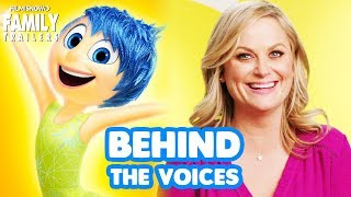 INSIDE OUT   Go behind the voices of the Disney Pixar animated movie