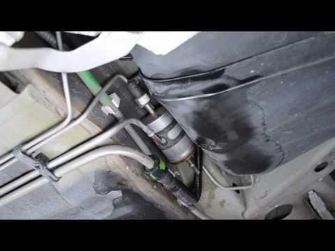Fuel Filter Change Ford Focus