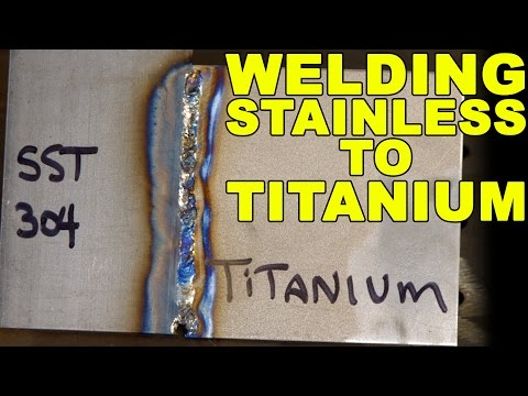 TIG Welding Stainless Steel to Titanium | TIG Time