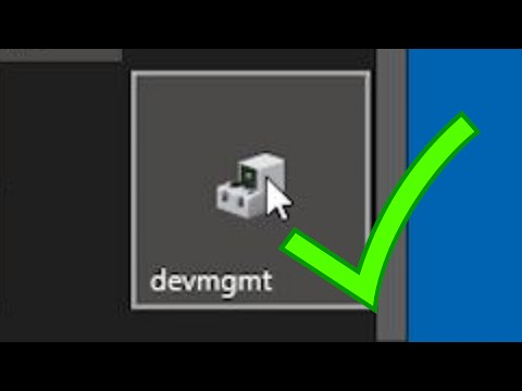 Add Device Manager to Windows Start or Taskbar