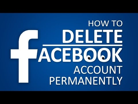 How to Delete Facebook Account Forever 2017 (Also How to Deactivate)
