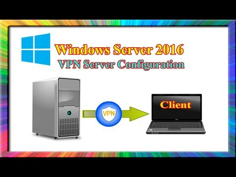 how to install and configure vpn server in windows server 2016