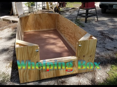 Building a Whelping Box for German Shepherd Puppies