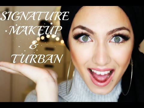 My Signature Makeup&Turban TWO-IN-ONE Tutorial | cypriot sister