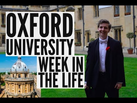 WEEK IN THE LIFE AT OXFORD UNIVERSITY!