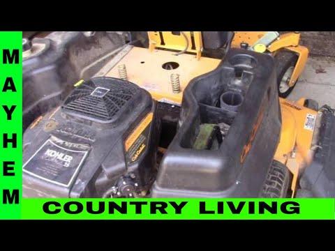 Cub Cadet coil repair cleanup fix 18 hp Kohler Command engine - 27