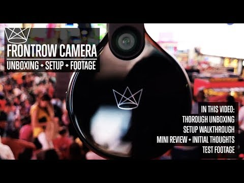 FRONTROW Wearable Camera Unboxing + Setup + Footage