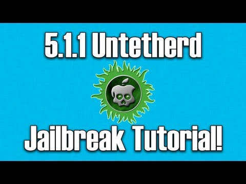 How To Jailbreak iOS 5.1.1 Untethered With Absinthe 2.0.4 | ALL DEVICES!