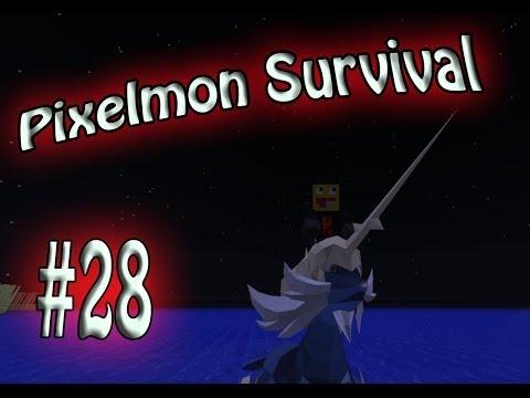 KYOGRE IS MINE! Pixelmon Survival Season 2! #28