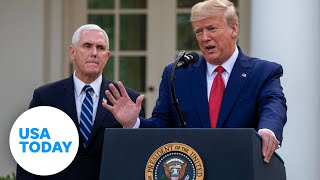 President Trump and Coronavirus Task Force update on pandemic: 3/30/2020 | USA TODAY
