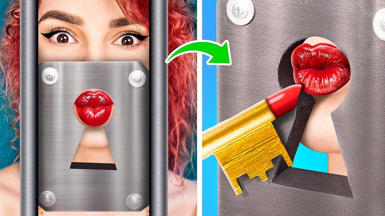 14 Weird Ways to Sneak Makeup in Jail