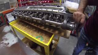Vintage V-12's - Engine Shop Visit - Part 1 of 3 - PakVim