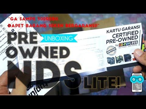 CUMA 279ribu! Unboxing Nintendo DS Lite Pre Owned dari GoPayLess Blibli.com