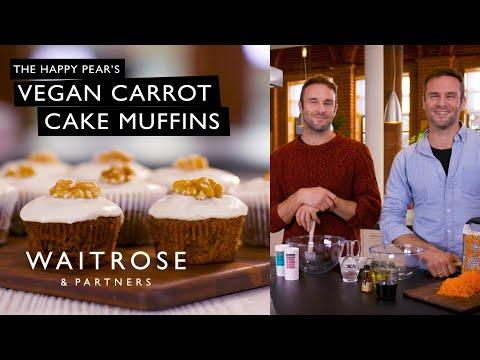 The Happy Pear's Vegan Carrot Cake Muffins | Waitrose