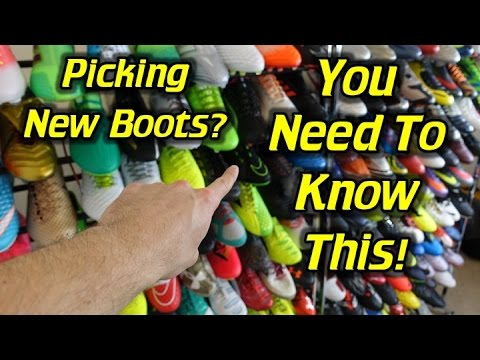 Top 5 Things You Need To Consider When Picking New Soccer Cleats/Football Boots