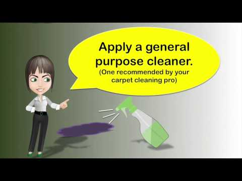 Juice Stain Carpet Cleaning in Vancouver BC