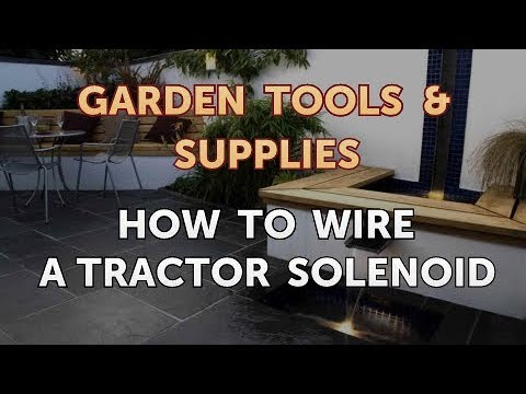 How to Wire a Tractor Solenoid