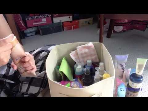 Spring/Summer Cleaning- Throwing Away Old Products!