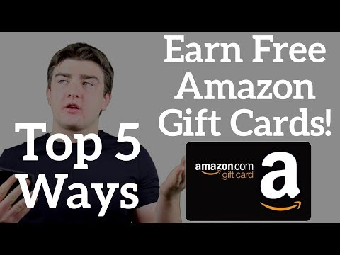 Top 5 Ways to Get Free Amazon Gift Cards - June 2018