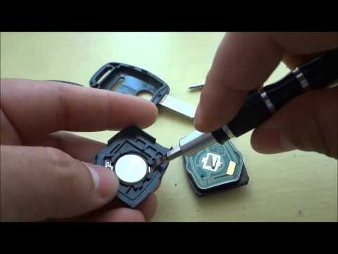 How To Change A Honda CR-V Key Fob Battery (2005- 2013)