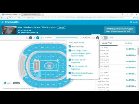 How to Buy VIP Packages on Ticketmaster