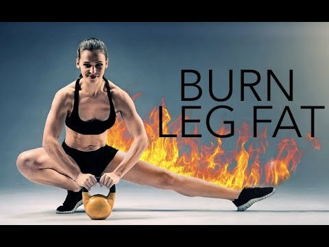 Burn Leg Fat Fast (HIIT WORKOUT FOR THIGHS!!)